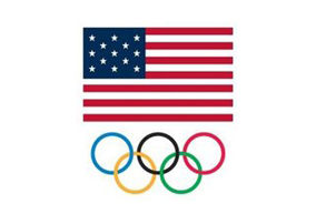 USA Shooting Store - US Flag and Olympic Rings