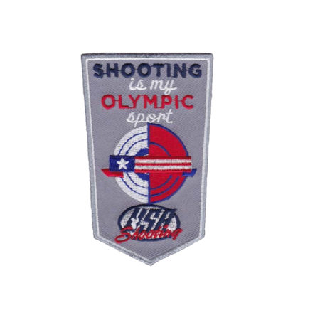 Shooting is My Olympic Sport - Patch