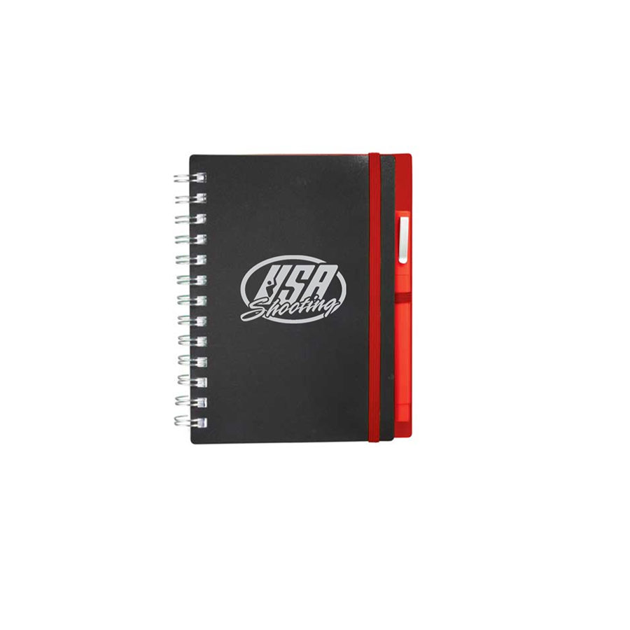USA Shooting Logo Journal - Red