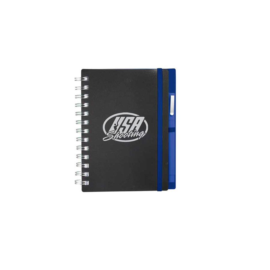 USA Shooting Logo Journal - Blue