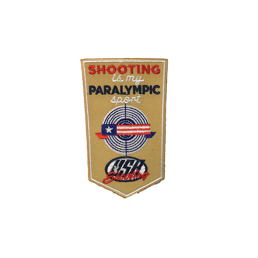 Shooting is My Paralympic Sport - Patch