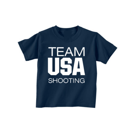 Team USA Infant Toddler Tee Front