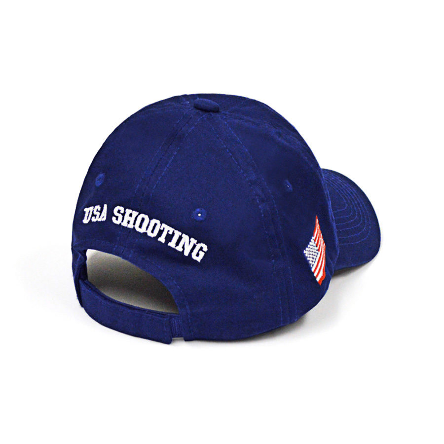 USA Hat Big Logo Back - Royal Blue