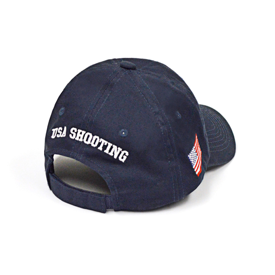 USA Hat Big Logo Back - Navy