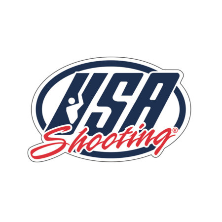 USA Shooting Sticker