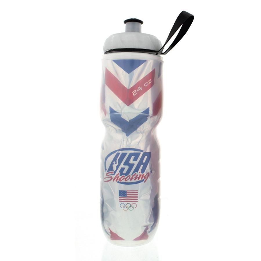 USAS Polar Water Bottle - Chevron Rings