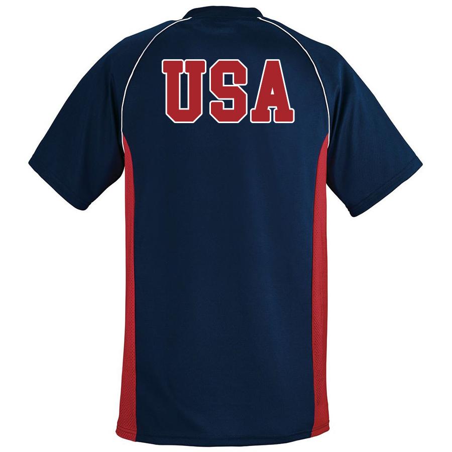 USA Jersey Back