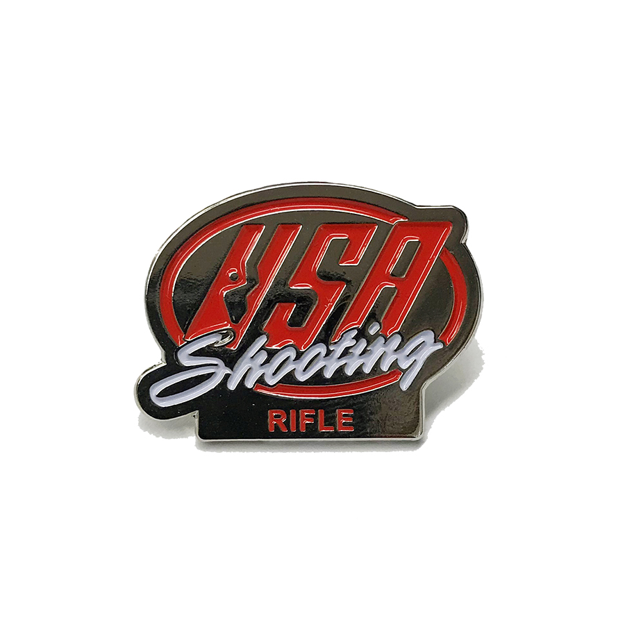 USAS Rifle Pin - Front