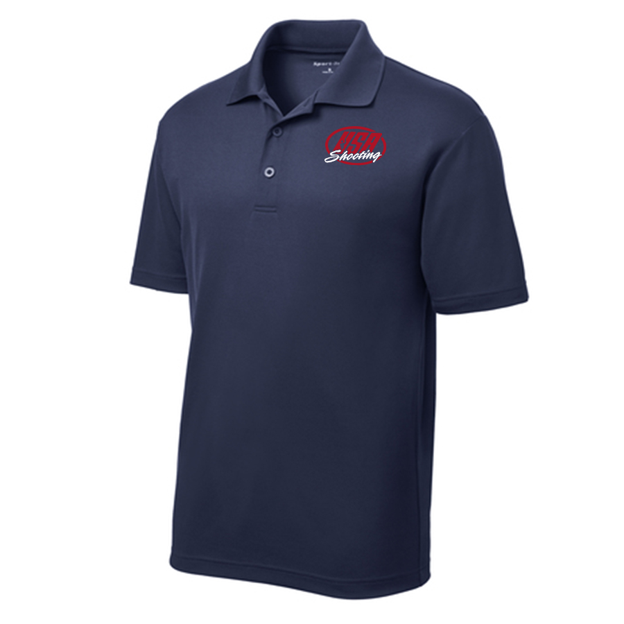 Men's Sport-Tek PosiCharge RacerMesh Polo True Navy