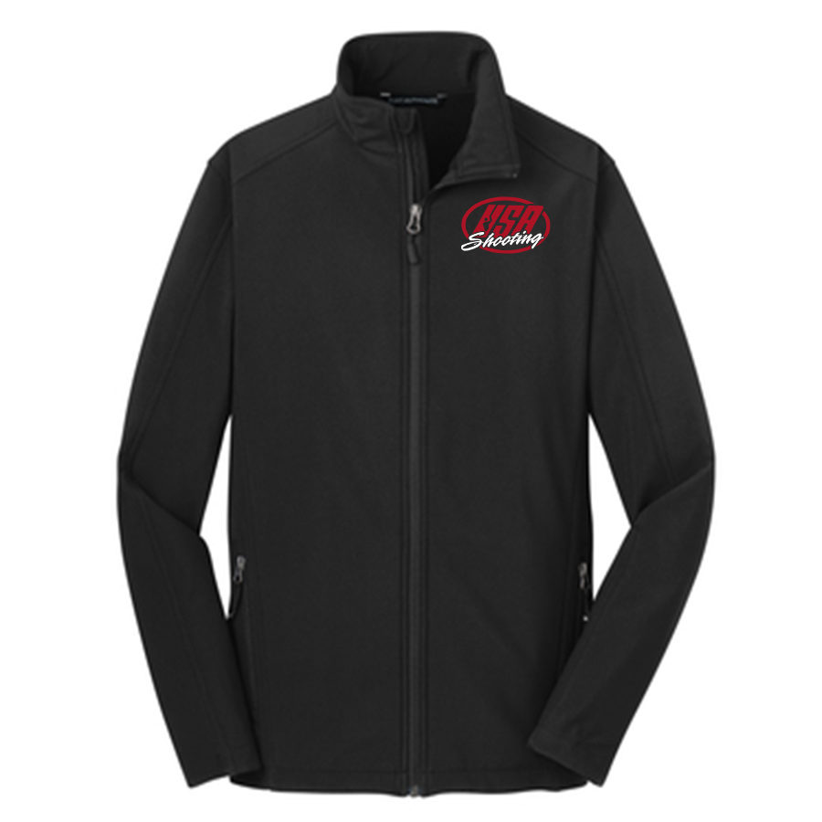 Men's Port Authority® Core Soft Shell Jacket Black
