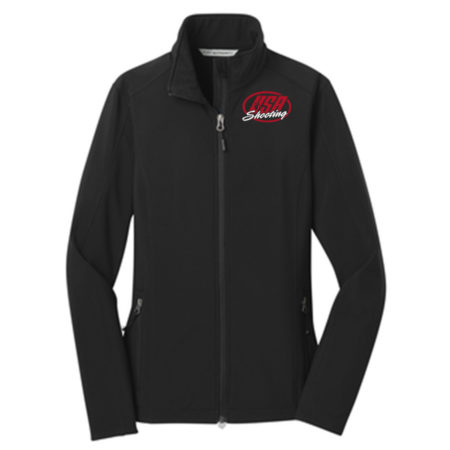 Women's Port Authority® Core Soft Shell Jacket Black