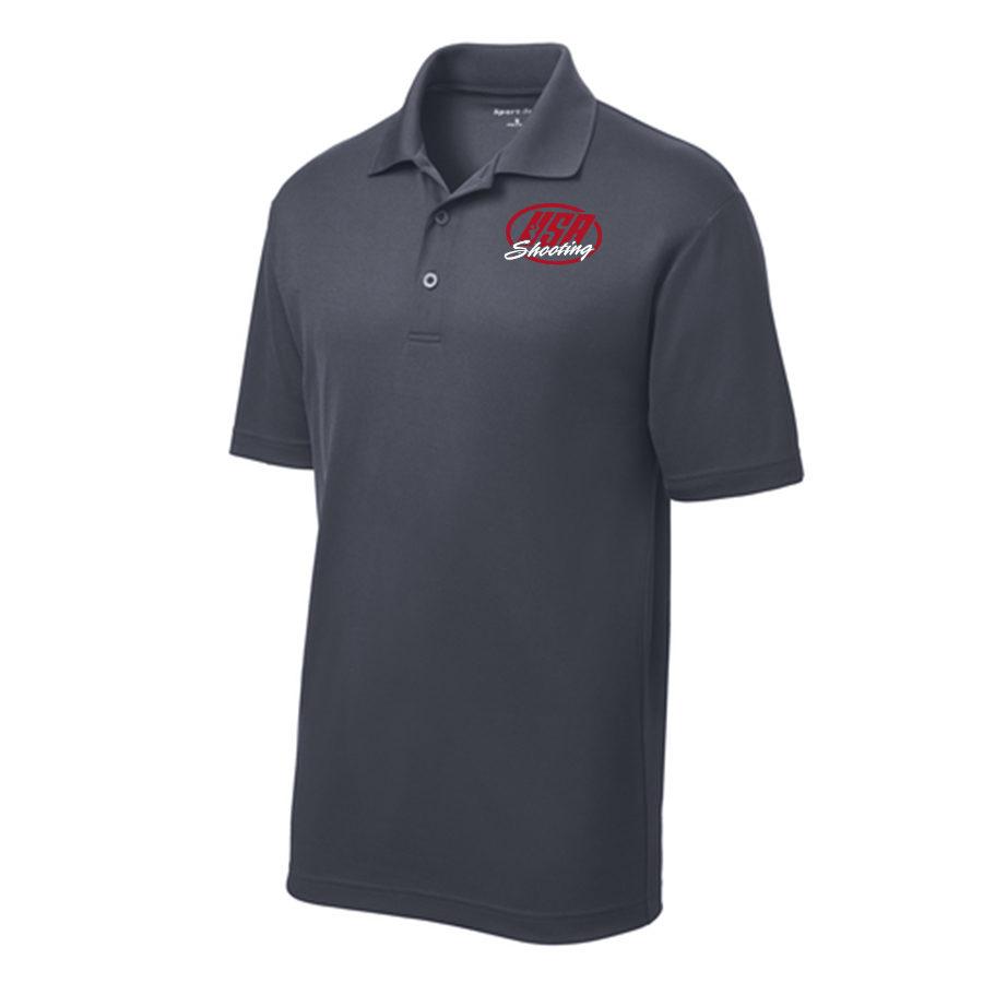 Men's Sport-Tek PosiCharge RacerMesh Polo Graphite Grey
