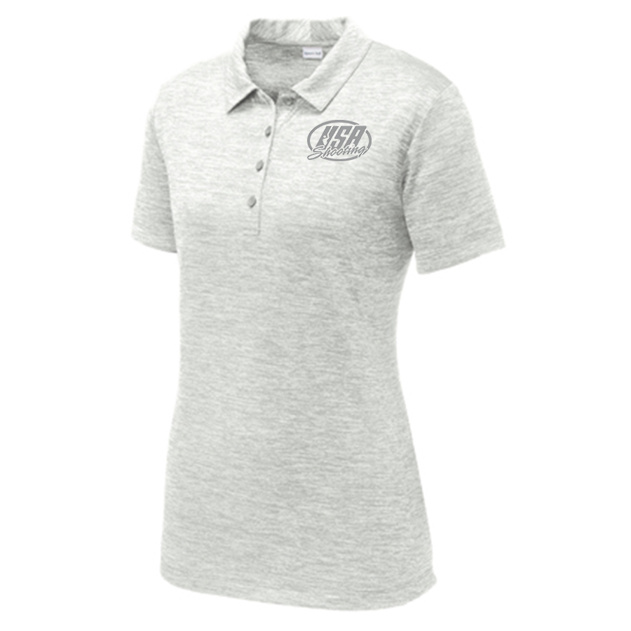 Women's Sport-Tek® PosiCharge® Electric Heather Polo