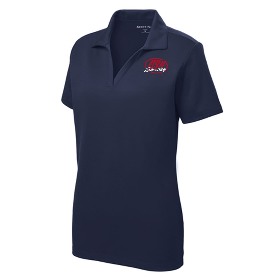 Women's Sport-Tek PosiCharge RacerMesh Polo True Navy