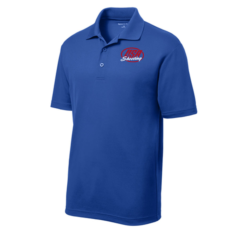 Men's Sport-Tek PosiCharge RacerMesh Polo True Royal