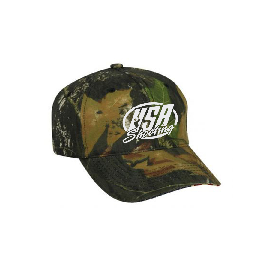 USA Shooting Logo Camo Hat - Mossy Oak