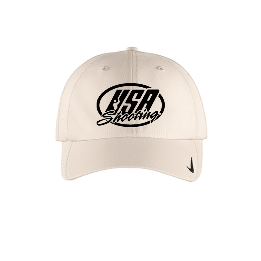 USA Shooting Logo Nike Sphere Dry Cap - Birch