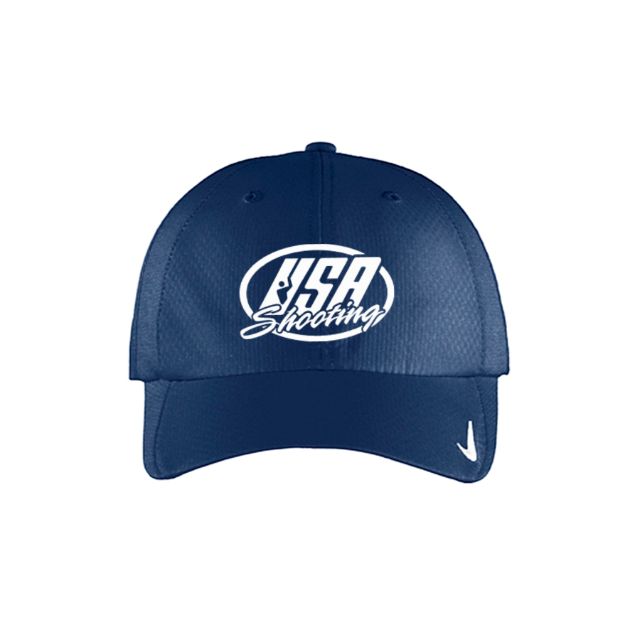 USA Shooting Logo Nike Sphere Dry Cap - Navy