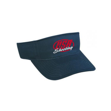 USA Shooting Logo Visor - Navy