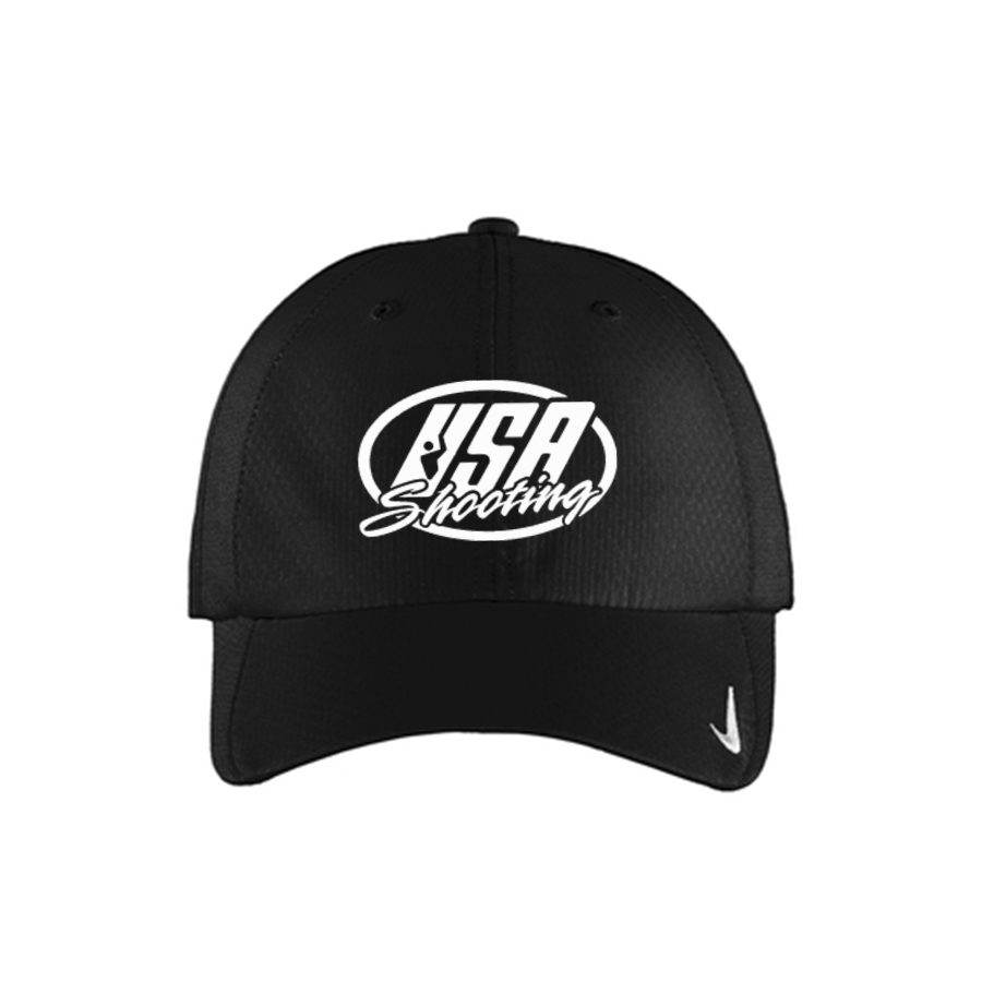 USA Shooting Logo Nike Sphere Dry Cap - Black