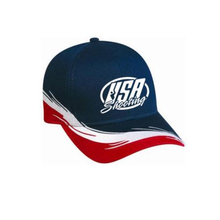 USA Shooting Logo American Hat