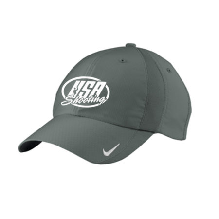 USA Shooting Logo Nike Sphere Dry Cap - Anthracite