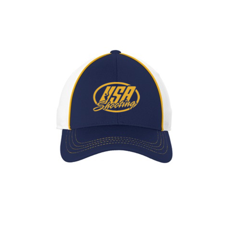 f88bf13c52f USA Shooting Logo Sport-Tek® Piped Mesh Back Hat - USA Shooting ...