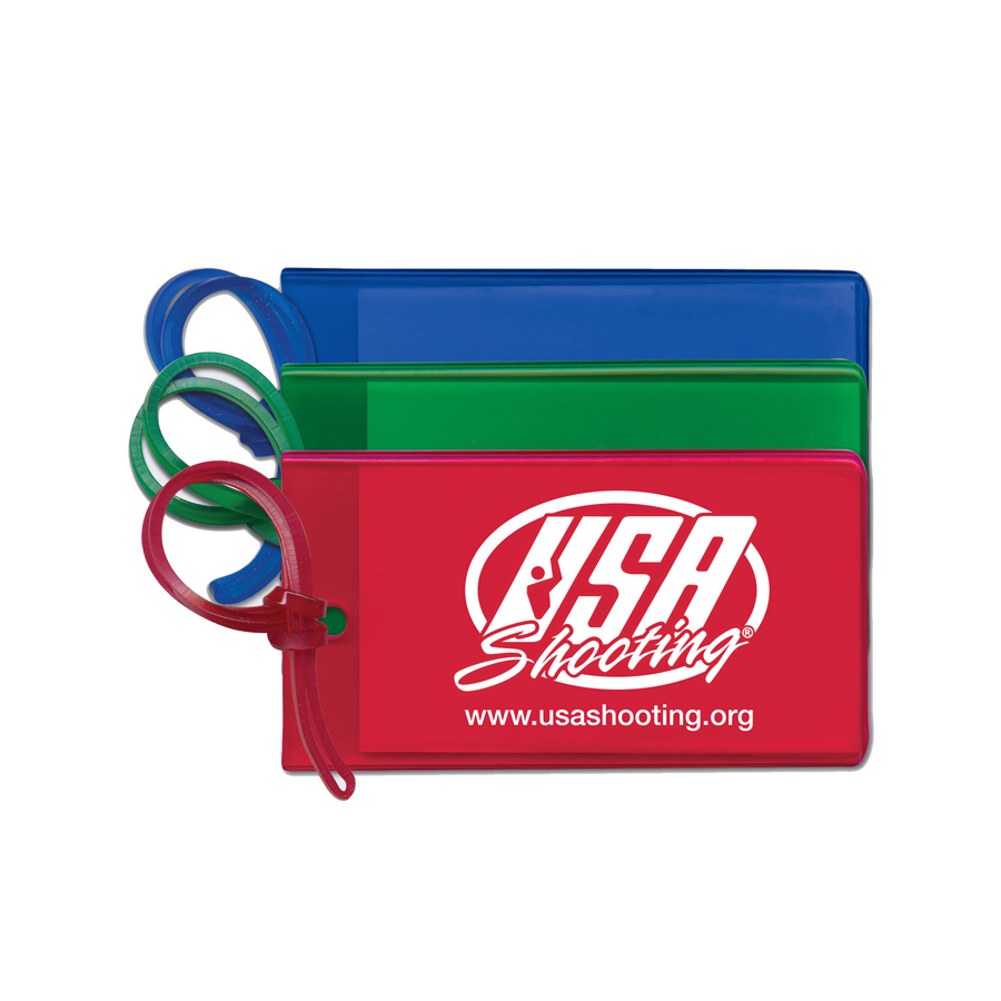 USA Shooting Logo Luggage Tag