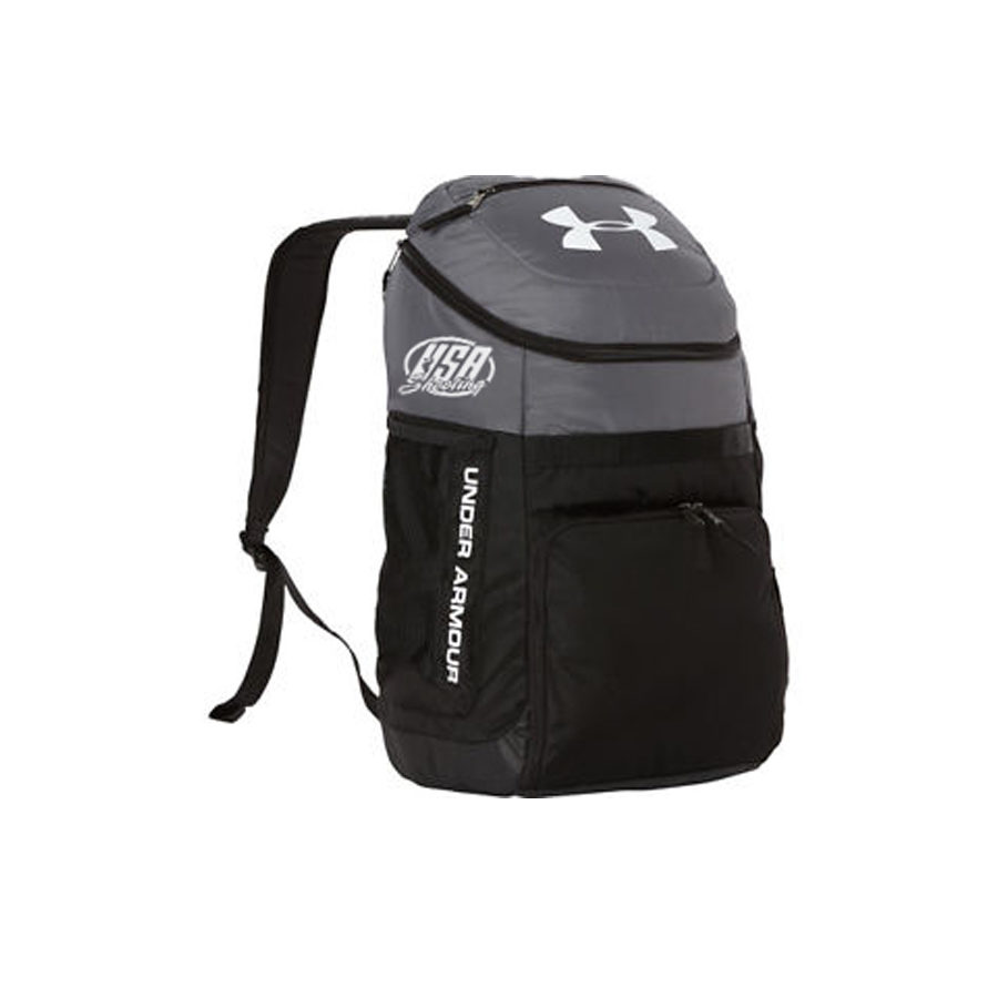 USA Shooting UA Team Undeniable Backpack - Graphite/Black/White
