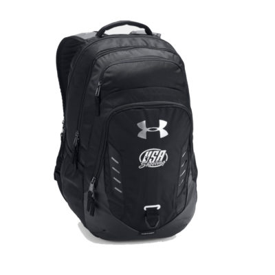 USA Shooting UA Gameday Backpack - Black/Black/Silver