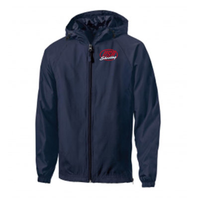 USA Shooting Logo Sport-Tek® Hooded Raglan Jacket - True Navy