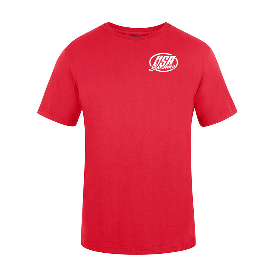 USA Shooting - USA T-Shirt Front - Red