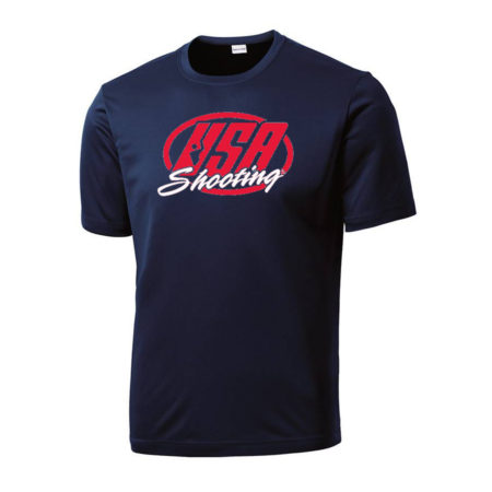 USA Shooting - Performance Tee Navy