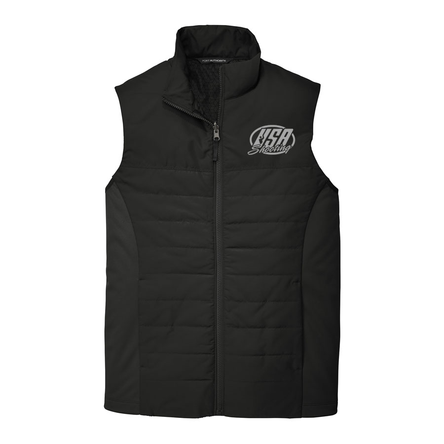 USA Shooting - Port Authority Collective Insulated Vest Black