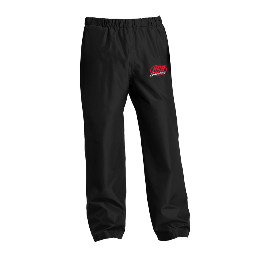 USA Shooting - Port Authority Torrent Waterproof Pant Black
