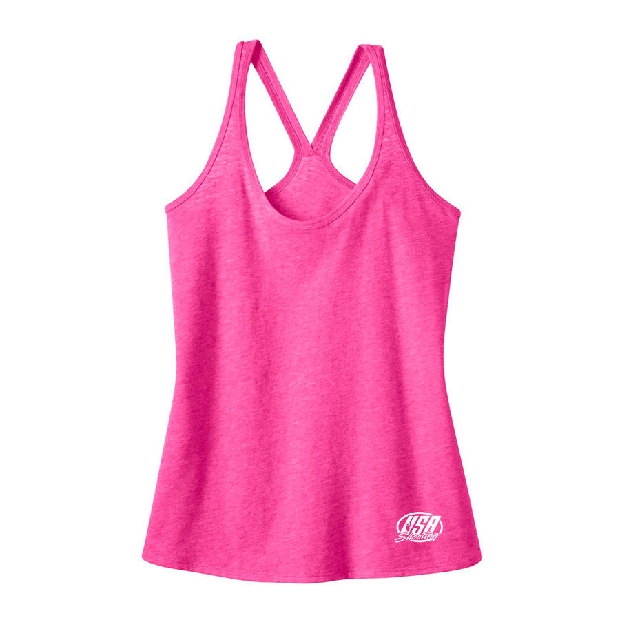 USA Shooting - Ladies Tank Top - Pink
