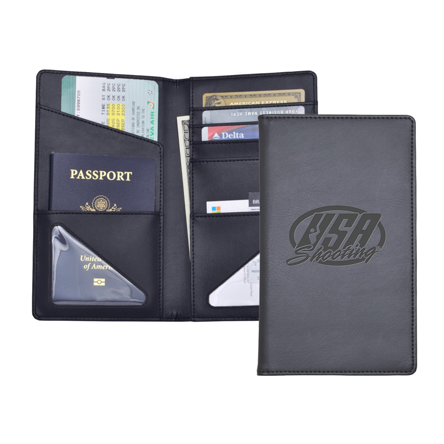 USA Shooting - Passport Holder Inside